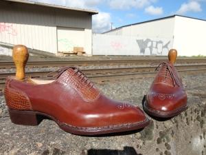 Elrod Shoe Bespoke Portland Norwegian Handmade