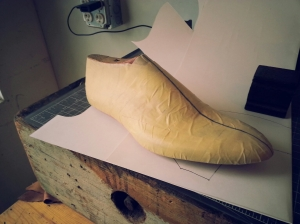 elrod shoes pattern middle line