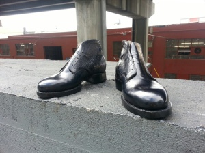 elrod shoes boots double soled