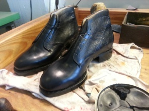 elrod shoes boots polishing