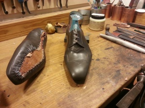 elrod shoes bespoke art deco oxford