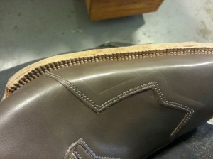 elrod shoes sole stitches