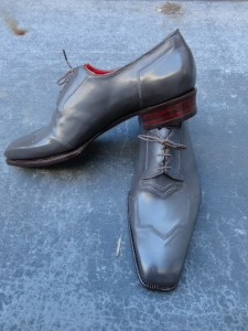 art dco bespoke shoe