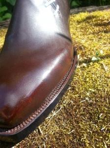 reid elrod bespoke sole stitching