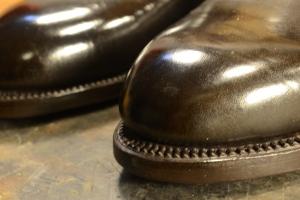 Reid Elrod Bespoke Shoes Finishing