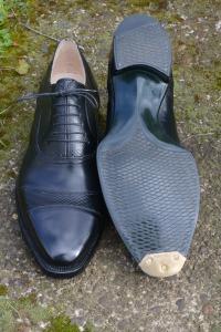 reid elrod bespoke shoemaking portland oregon gladiator oxford bottom finish