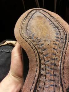 reid elrod bespoke shoemaking welting gladiator oxford