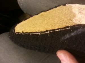 reid elrod bespoke slipper brace stitch