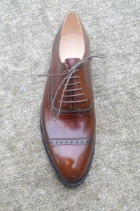 Reid Elrod Bespoke Shoes Oxford Patina